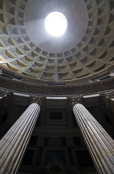 Free Pantheon Interior Stock Photo - 13860220