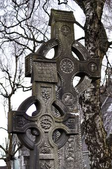 Free Celtic Cross Royalty Free Stock Photography - 13860407