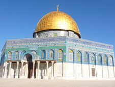 Free Dome Of The Rock Stock Image - 13860551