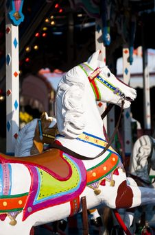 Free Horse Carousel On Fun Fair Royalty Free Stock Image - 13861536