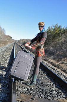 Free Women S Luggage Royalty Free Stock Image - 13861576