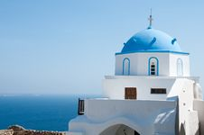 Free Greek Church Royalty Free Stock Photo - 13861805