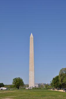 Free Washington  Monument Royalty Free Stock Photo - 13861985