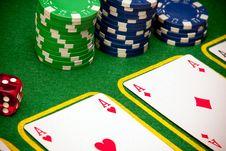 Free Casino Cards Background Stock Photo - 13863290