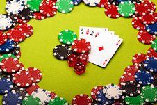 Free Casino Concept Background Stock Photo - 13863340
