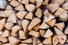 Free Folded Birch Wood. Stock Photo - 13865670
