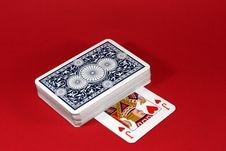 Free Distribution Of Cards Stock Photos - 13865743