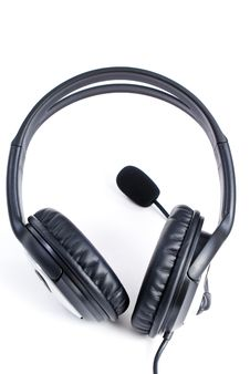 Free Headphones Royalty Free Stock Image - 13867396