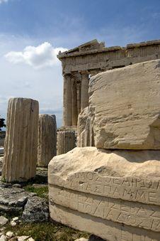 Free The Parthenon In Athens Royalty Free Stock Photos - 13867748