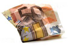 Euro Banknote Royalty Free Stock Photos