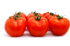 Free Tomatoes Group Royalty Free Stock Image - 13868096