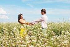 Free Young Lovely Couple Royalty Free Stock Photography - 13868347