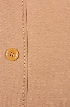 Free Fabric, Button, Seam A Background. Royalty Free Stock Images - 13869719