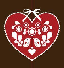 Free Bird Love Card Stock Photo - 13870030