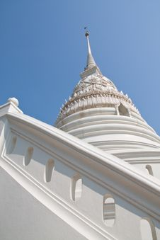 Free White Pagoda Stair Royalty Free Stock Image - 13871166