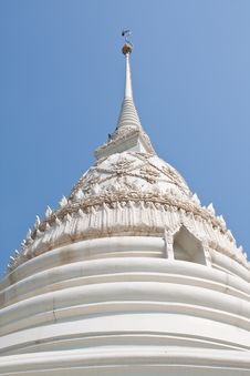 Free Front White Pagoda Stock Photo - 13871190