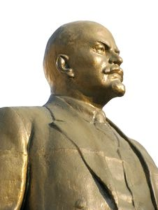 Free Lenin Monument Royalty Free Stock Photography - 13871277