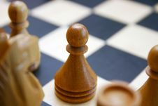 Free Chess Pawn Detail Stock Image - 13871331