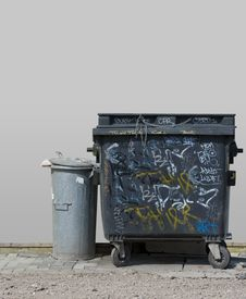 Waste Container Stock Photography
