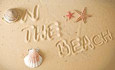 Free Sand Stock Photo - 13872000