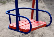 Free Empty Swing Stock Photography - 13872132