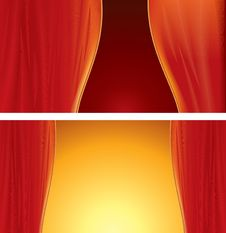 Free Theater Curtains Royalty Free Stock Photos - 13872658