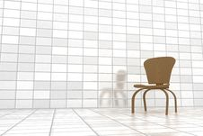 Free Wooden Chair Royalty Free Stock Photography - 13872837