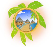 Free Tropics Royalty Free Stock Photo - 13873075