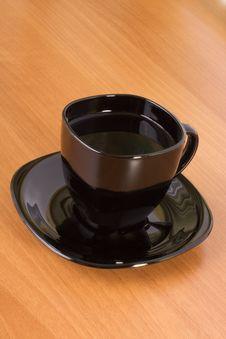 Free Mug On Table Stock Photography - 13873622