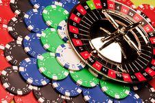 Free Casino Background Royalty Free Stock Photography - 13874207