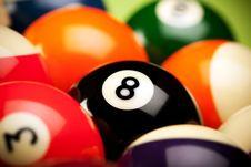 Free Eightball ! Royalty Free Stock Photos - 13874358