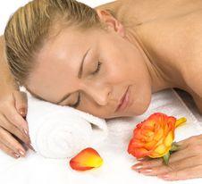 Free Spa Treatment Royalty Free Stock Image - 13874496