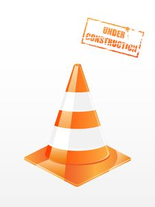 Free Traffic Cone Royalty Free Stock Photos - 13874648