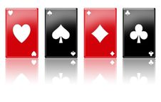 Free Poker Aces Stock Photos - 13875063