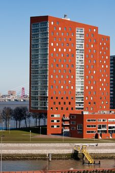 Free Modern Architecture In Rotterdam Royalty Free Stock Images - 13875249