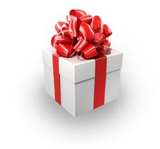 Free White Gift Stock Images - 13875544
