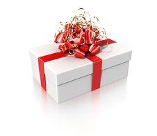 Free White Gift Royalty Free Stock Photo - 13875585