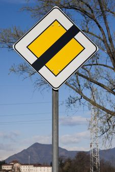 Free Road Sign Royalty Free Stock Photos - 13875858