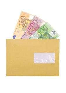 Free Paper Euro Royalty Free Stock Photos - 13876198