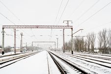 Free Railway Royalty Free Stock Photo - 13876725