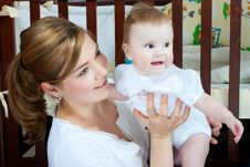 Free Mother And Baby Stock Photo - 13876780