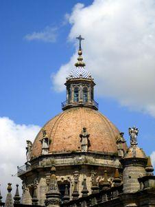 San Salvador Cathedral Jerez De La Frontera Spain Stock Photography