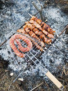 Free Shish Kebab Stock Images - 13876814