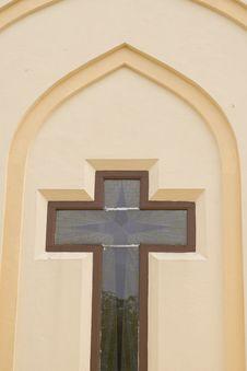 Free Church Cross Royalty Free Stock Photo - 13877395
