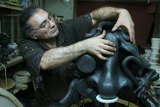Free The Sculptor Stock Photos - 13877433