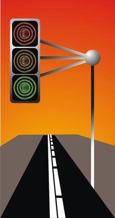 Traffic Signal Stock Image