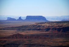 Muley Point View: Monument Valley Stock Photo