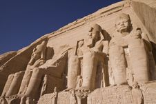 Free Stone Statues In Egypt Royalty Free Stock Photos - 13878618