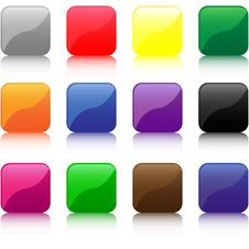 Free Buttons Stock Image - 13879131