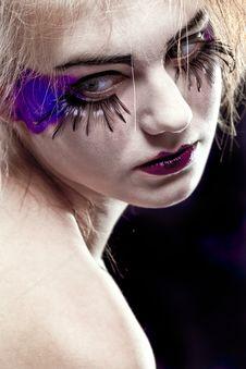 Free Glamour Make-up Stock Photo - 13879500